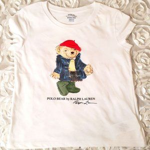 Polo Ralph Lauren Girls Short Sleeves Graphic T